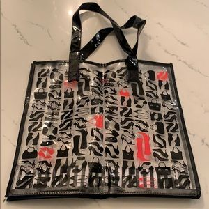 DSW Clear Tote with Shoe Images